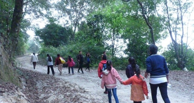 Hike to Nagi Gumba, Shivapuri National Park with WOV girls!