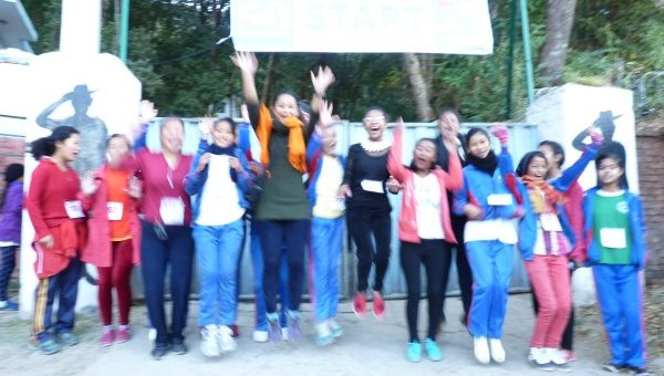 WOV girls participated in the Kathmandu Ultra 2016