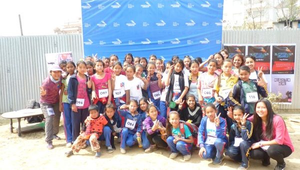 """""""Girls in Action"""" team participated in Seto Gumba 11km trail."""