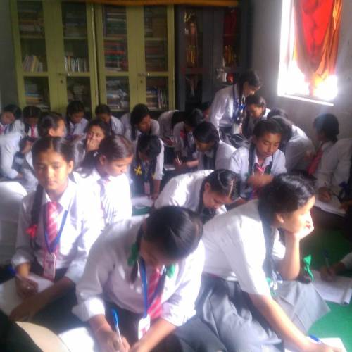 Health classes conducted at two schools in Budhanilkantha