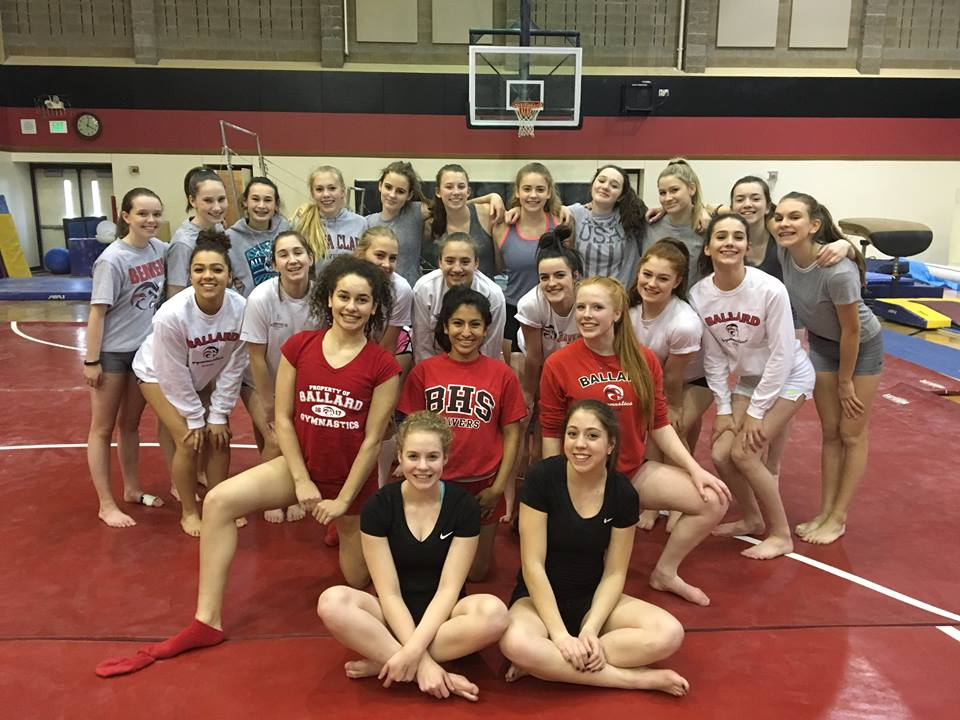 Ballard High School Gymnastics Team